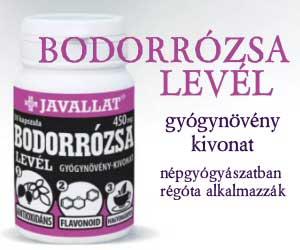JAVALLAT BODORRÓZSA LEVÉL KAPSZULA 50