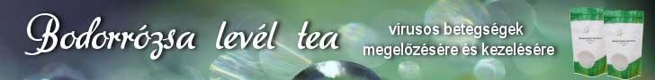BODORRÓZSA LEVÉL TEA