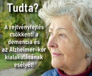 Rejtvényjáték - A demencia és az Alzheimer ellen