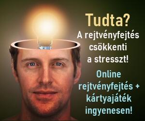 Rejvényfejtés csökkenti a stresszt