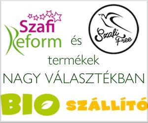 SzafiFree és SzafiReform termékek